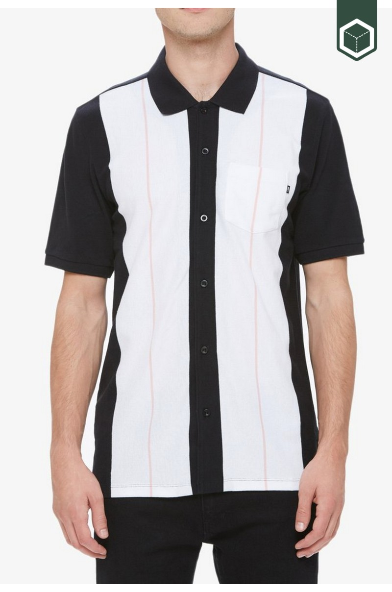 Obey Keystone Button S/S Polo
