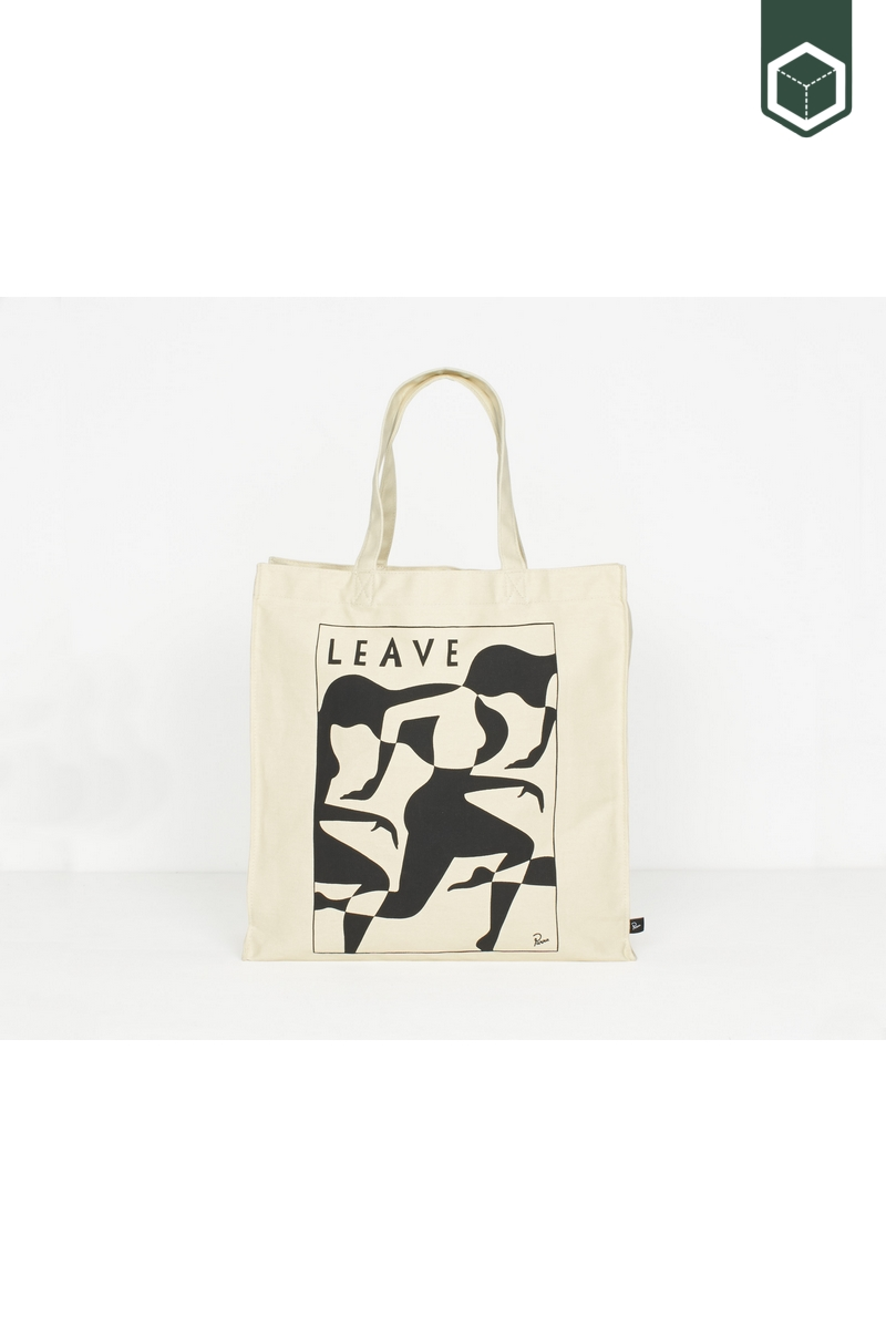 By Parra Tote Bag Leave
