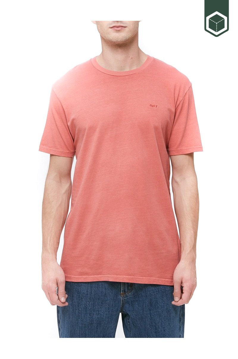 Obey Jumbled SS Pigment Tee