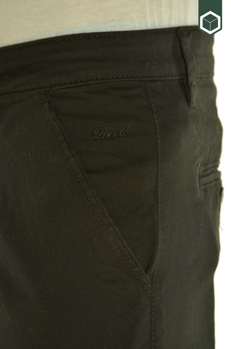 Reell Flex Tapered Chino Black