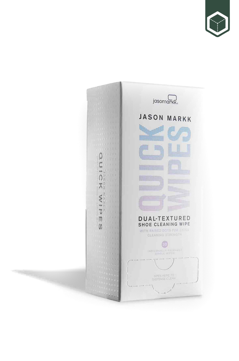 Jason Markk Quick Wipes Box Of 30 White