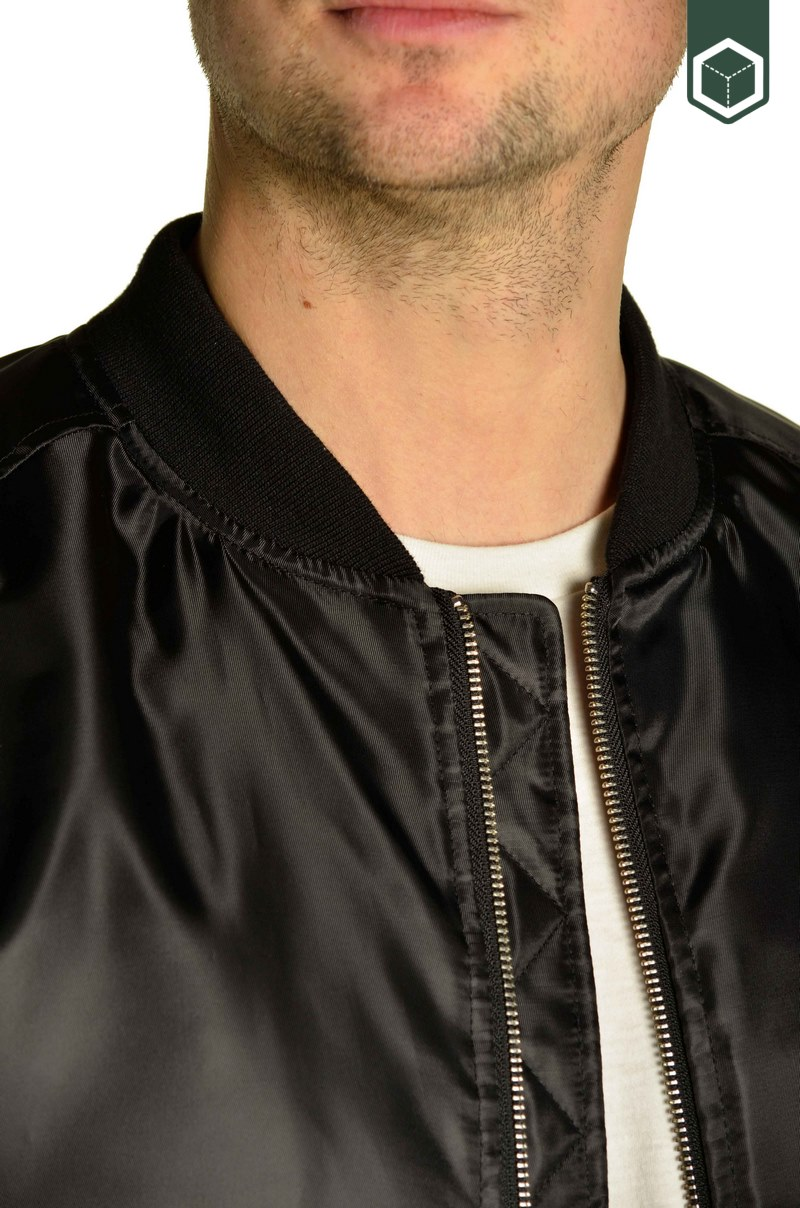 WeSC The Bomber Black