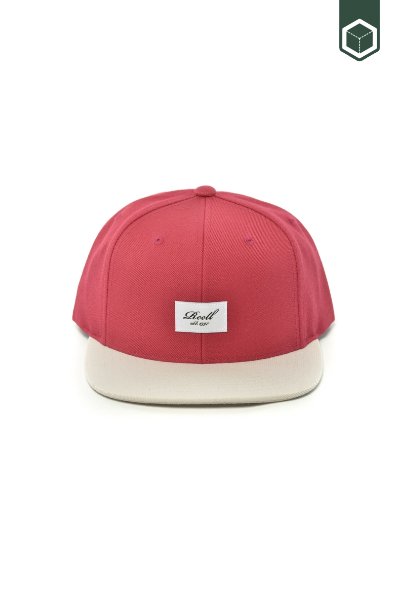Reell Pichout 6-Panel cap Maroon / L. Grey
