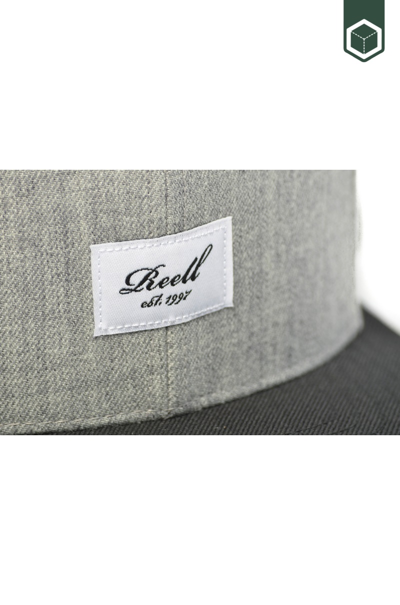 Reell Pichout 6-Panel cap Hth. Y. Grey / Black