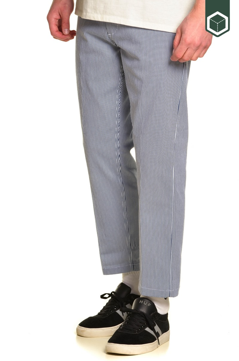 Obey Straggler Stripe Flooded Pant