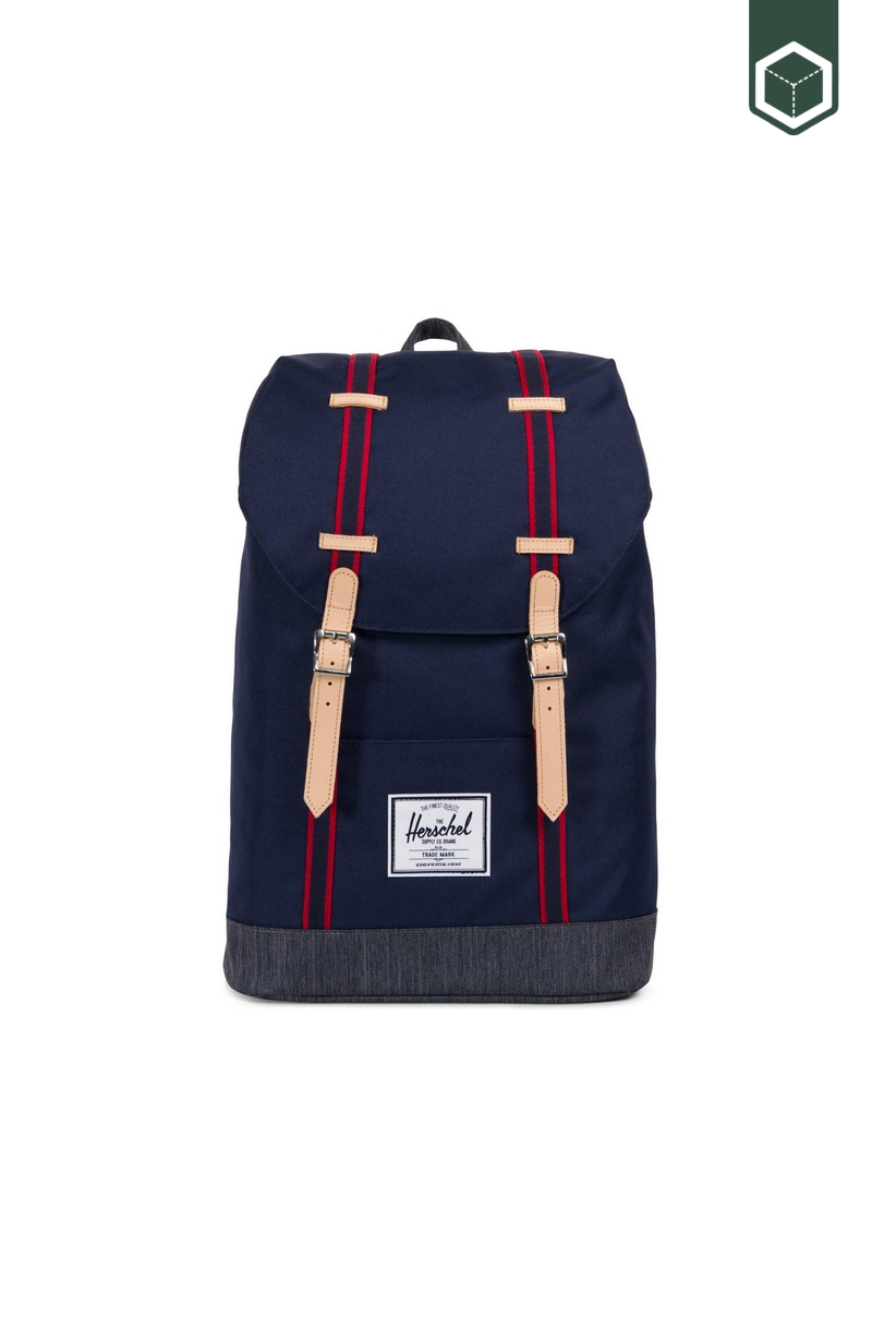 Herschel Offset Retreat Peacoat/Dark Denim
