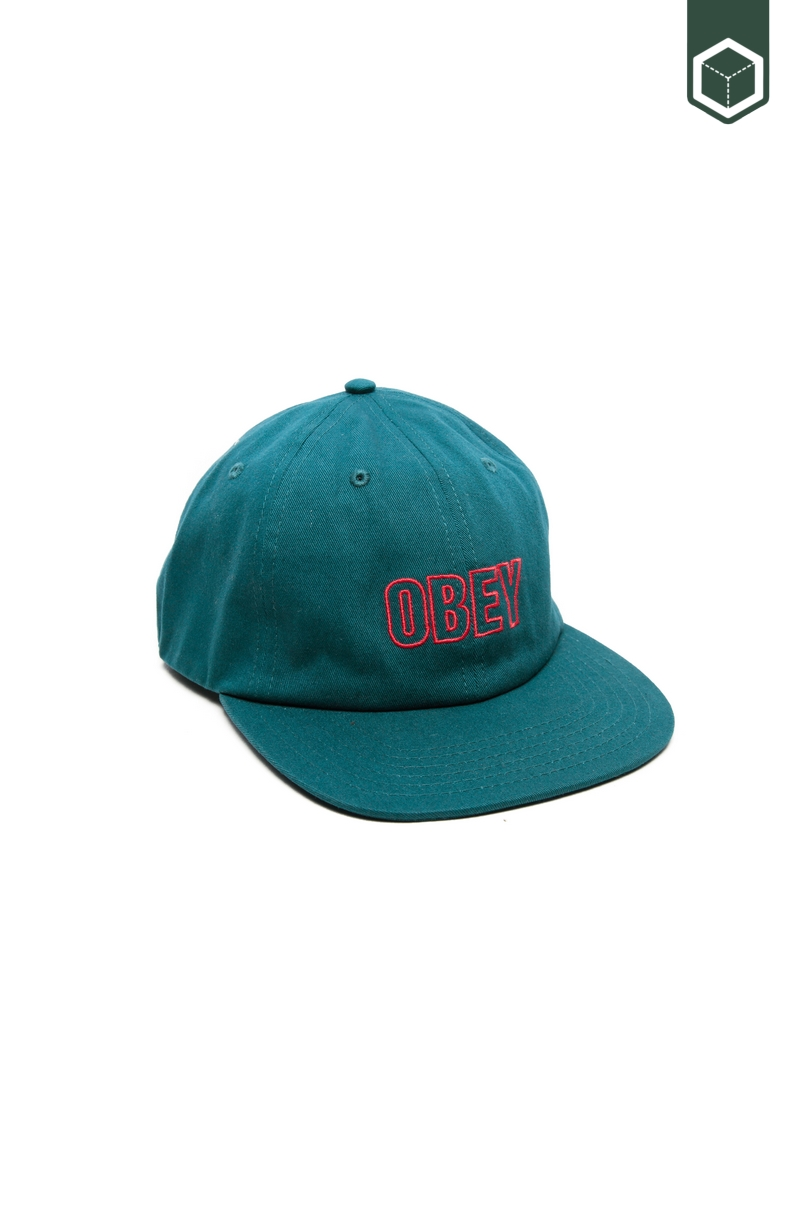 Obey Lynwood 6 Panel Snapback