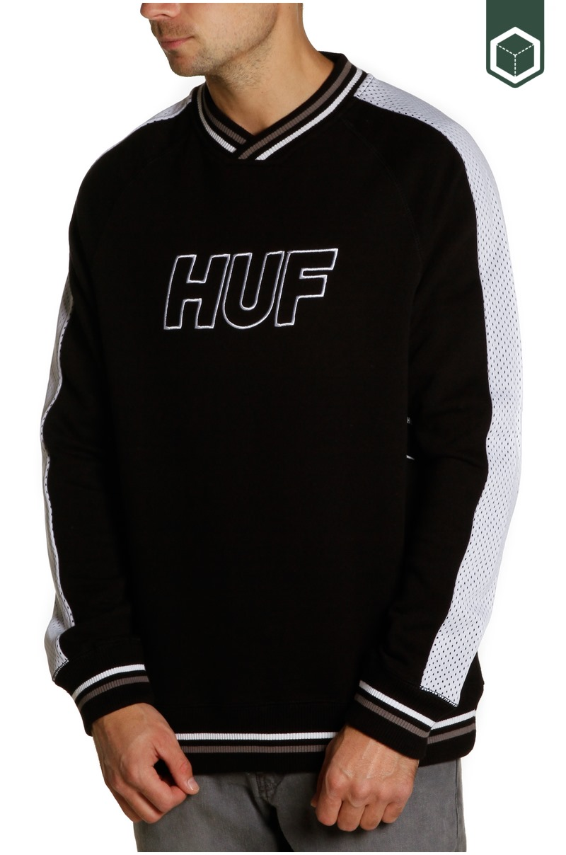 Huf Ender French Terry V-Neck