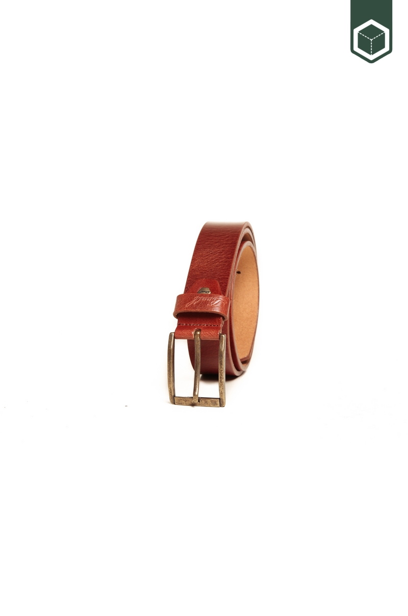 Reell Narrow Belt Vintage Brown