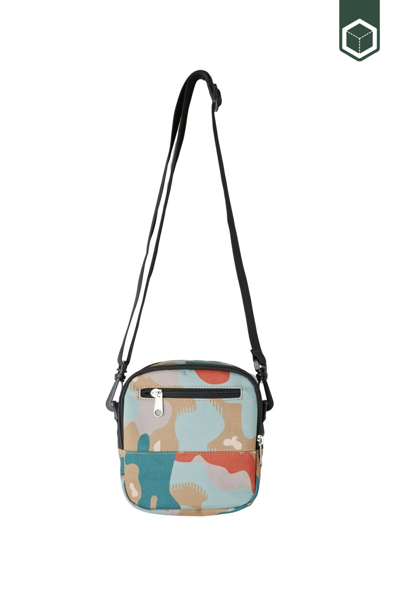 Obey Drop Out Traveler Bag Drip Camo