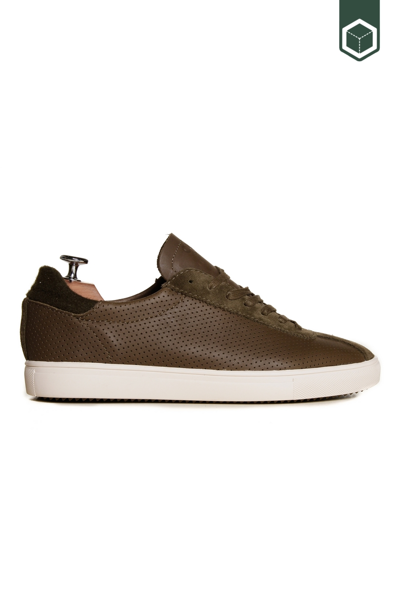 Clae Noah Olive Leather