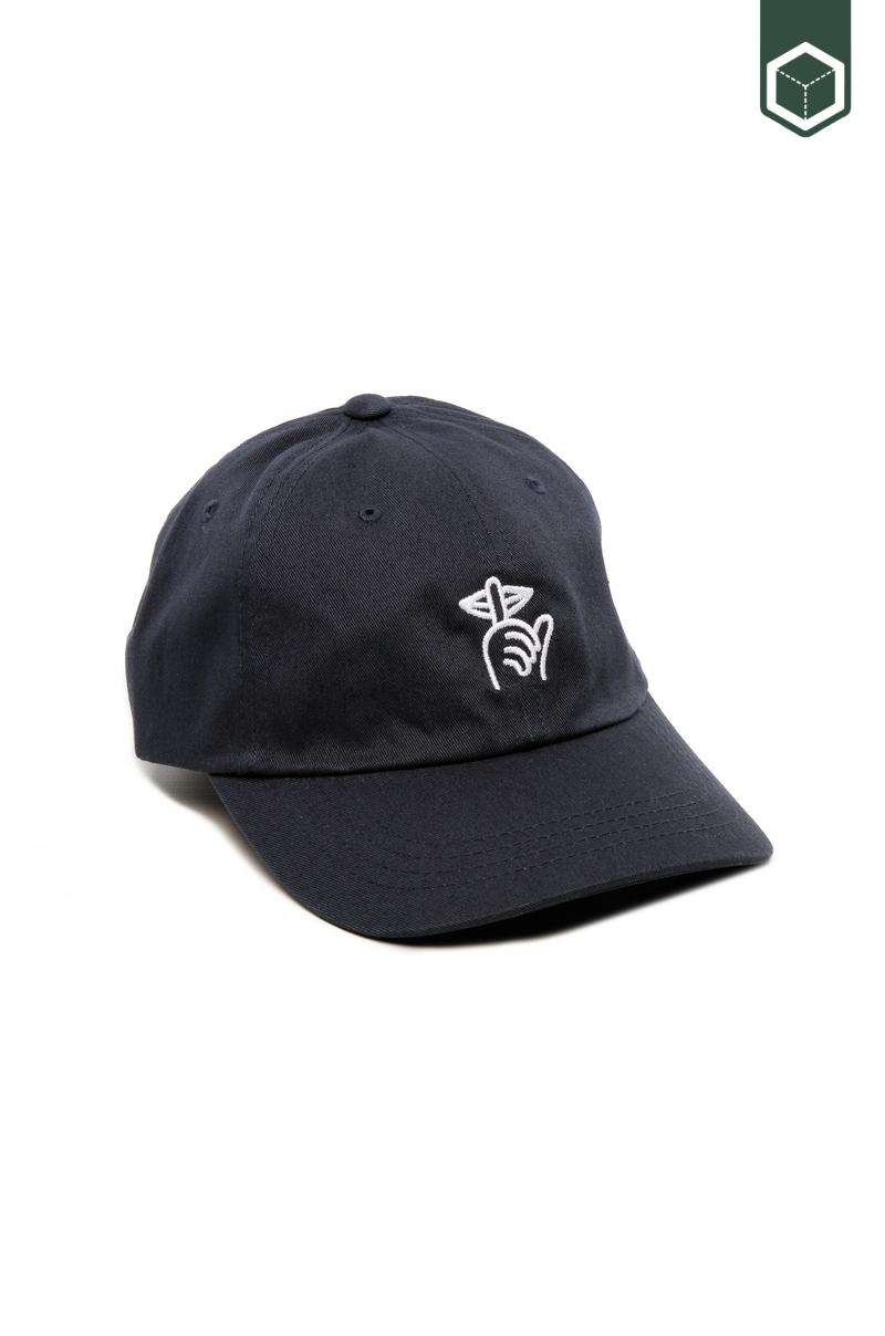 ebf38d4391c Quiet Life SHHH Dad Hat Navy Dad Cap