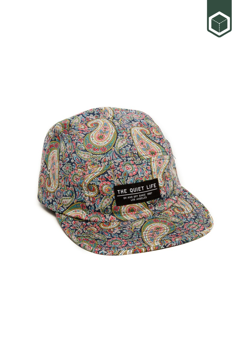 Quiet Life Liberty Paisley 5 Panel Camper Hat