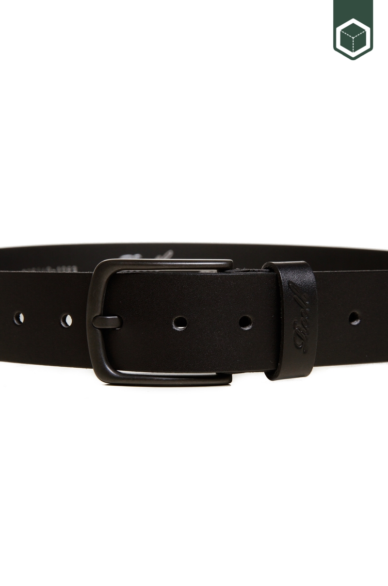 Reell All Black Buckle Belt Black