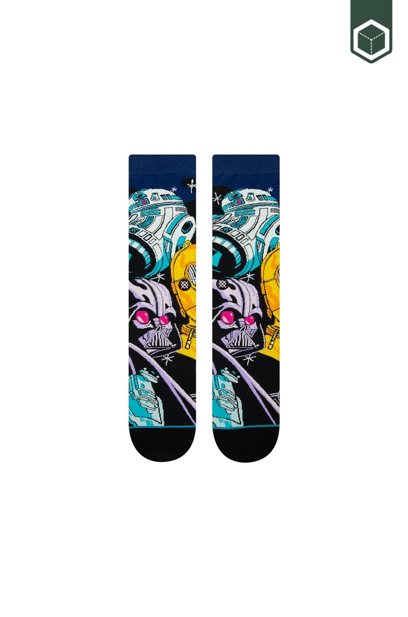 Stance Starwars Warped R2D2 Black