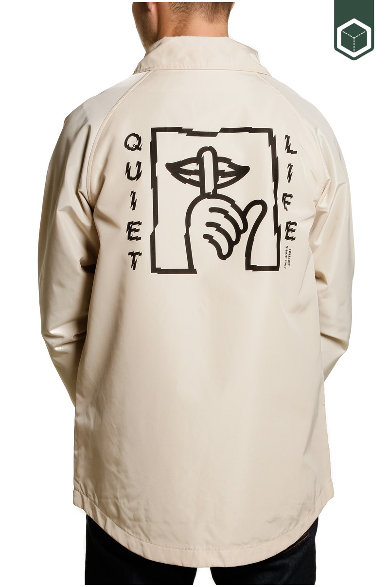 Quiet Life Shatter Monsoon Jacket Bone