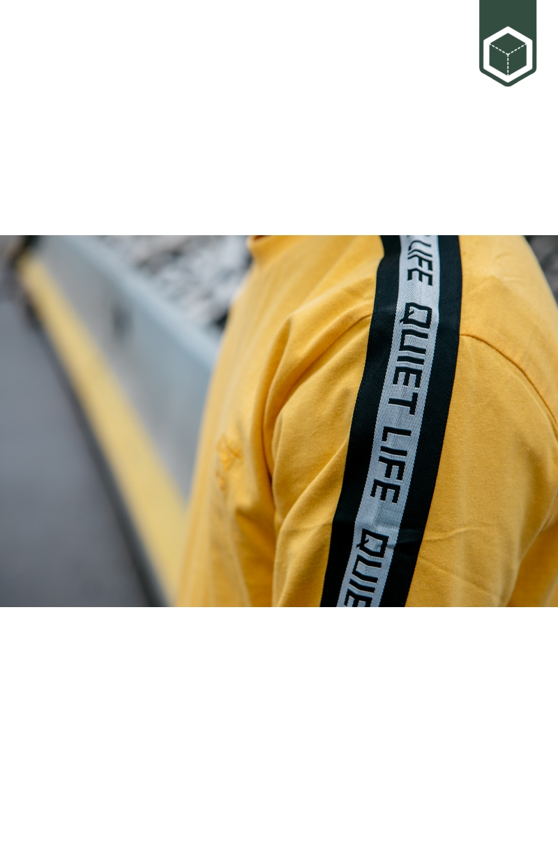 Quiet Life Racing Stripe  Gold