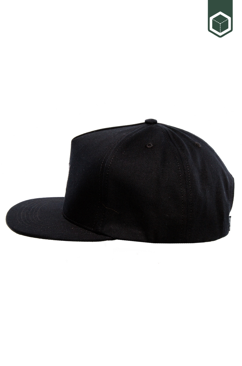 Quiet Life Metal Snapback Black