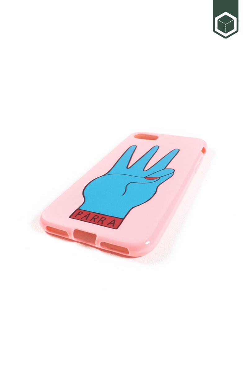 By Parra Iphone 7+/8+ Case Third Prize Pink & Blue