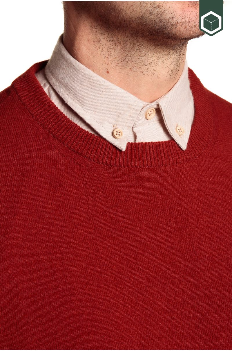 Klitmoller Collective Daniel Knitted Sweater Rust