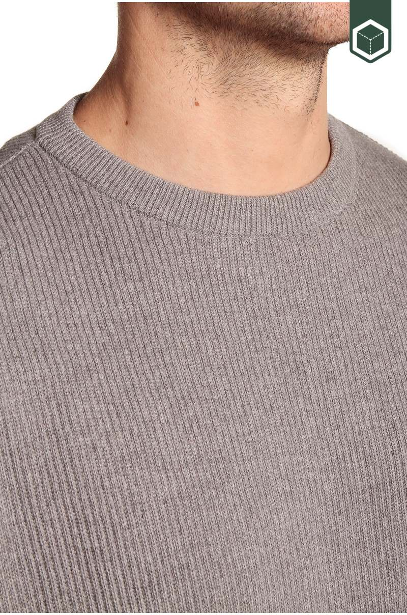 Klitmoller Collective Joakim Knitted Sweater Light Grey
