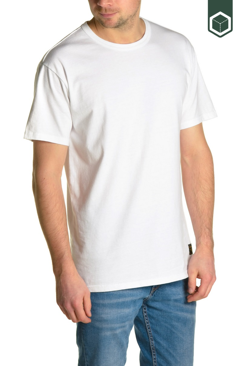 Levi's 2 Pack Tee Jet Black / White