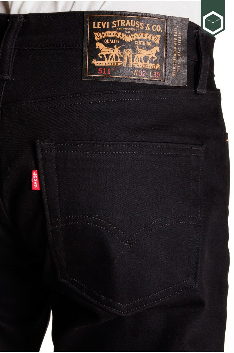 Levi's 511 Slim 5 Pocket Caviar Bull