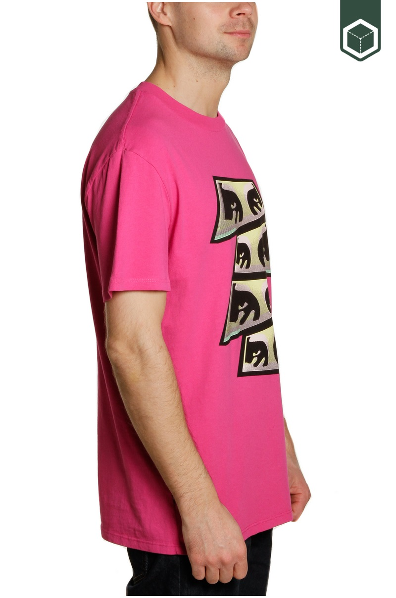 Obey Obey Pyramid Eyes Dusty Psychedelic Pink