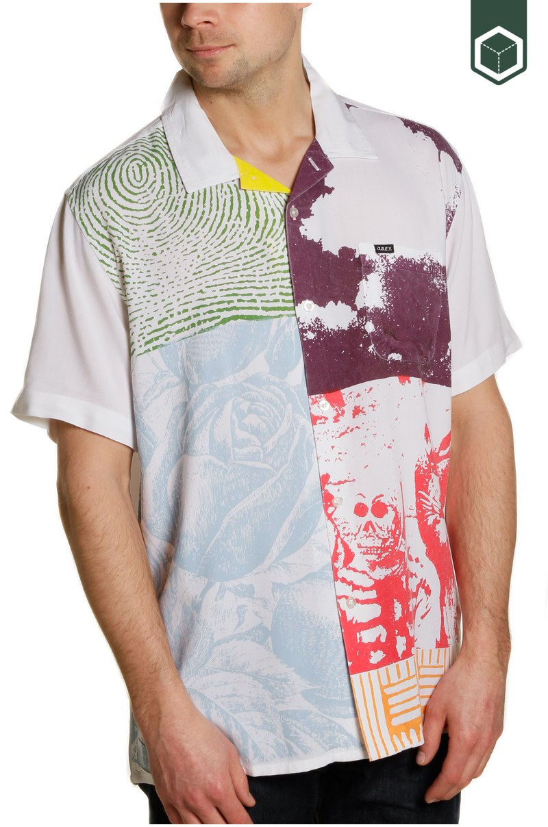Obey Hitter Woven SS
