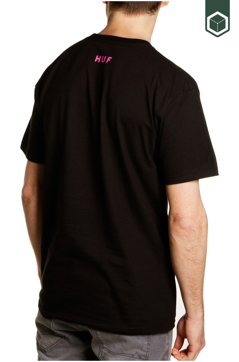 Huf Channel J S/S Tee Black