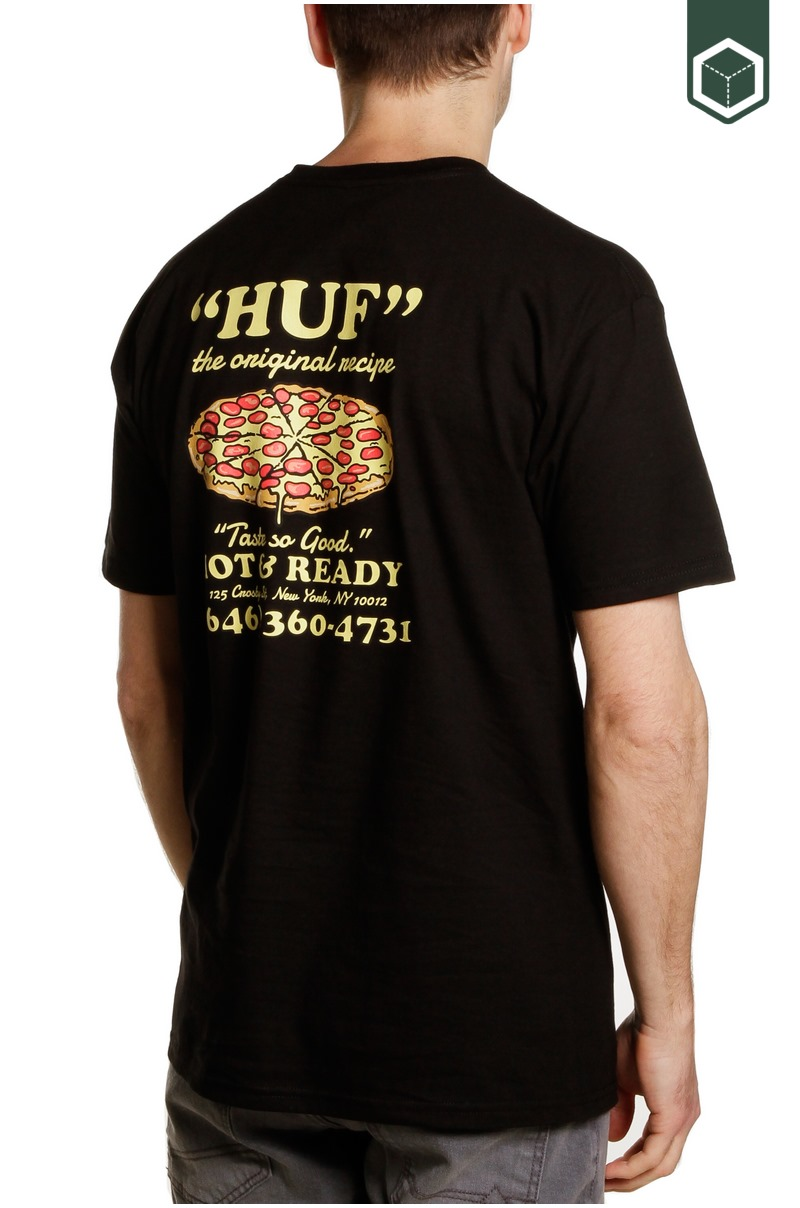 Huf Hot & Ready S/S Tee