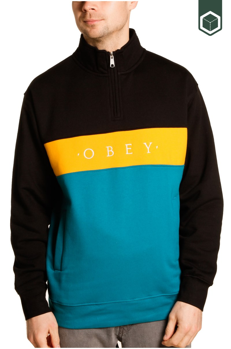 Obey Chelsea Mock Neck Zip