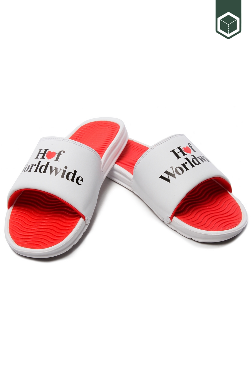 Huf Love Slide White