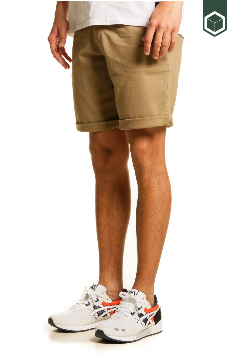 Reell Flex Grip Chino Short Dark Sand