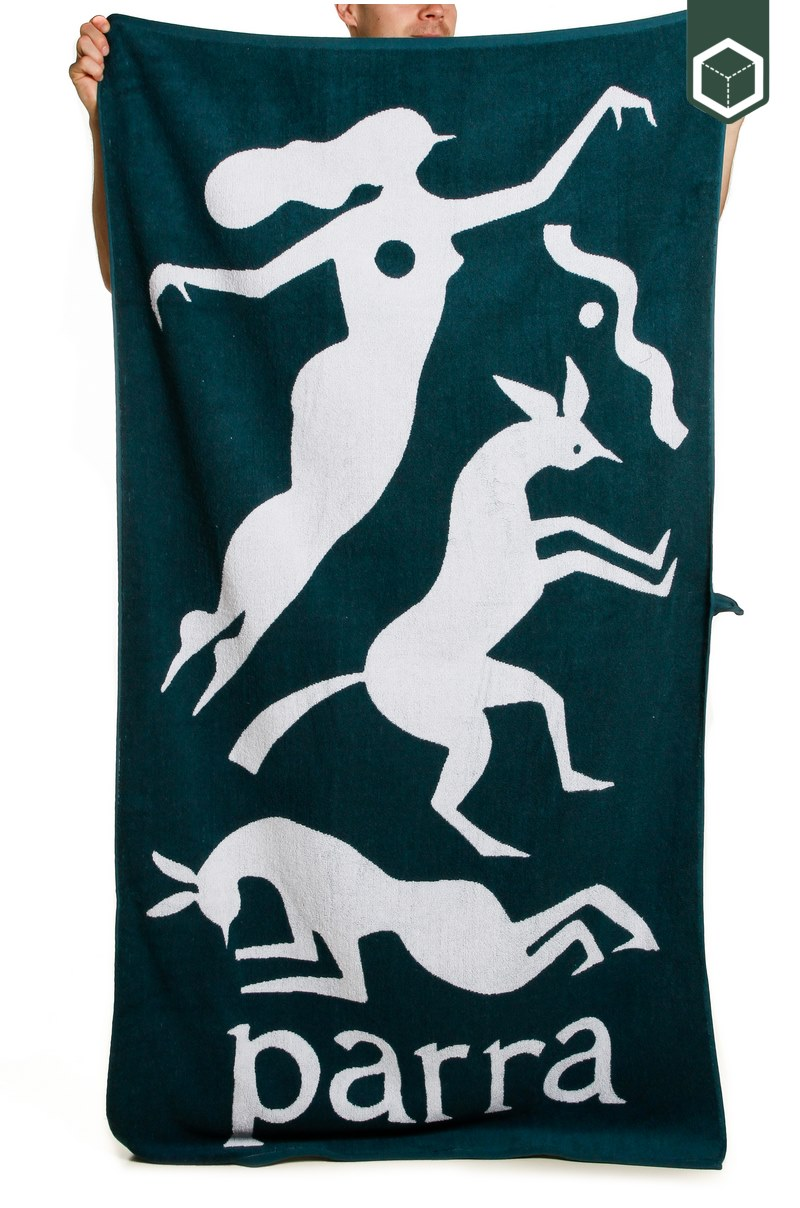 By Parra Beach Towel Workout Woman Horse