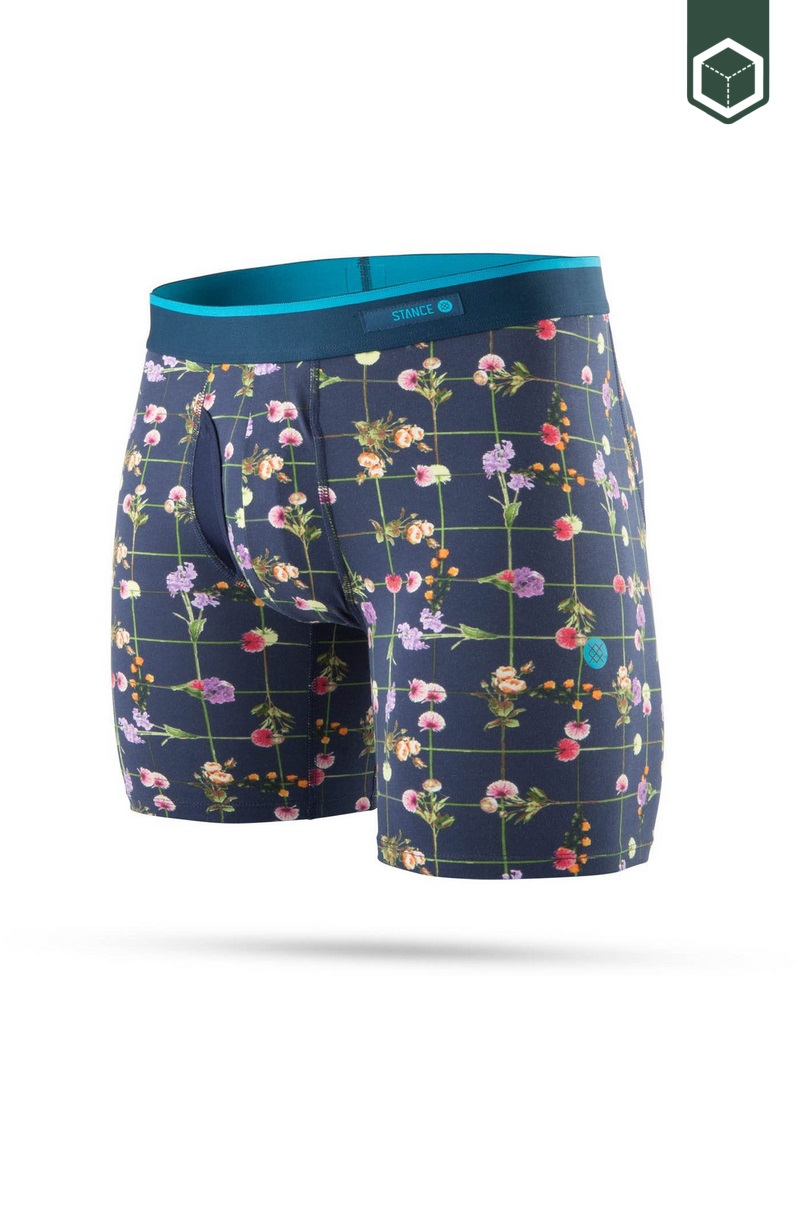 Stance The Boxer Brief Flower Grid BB