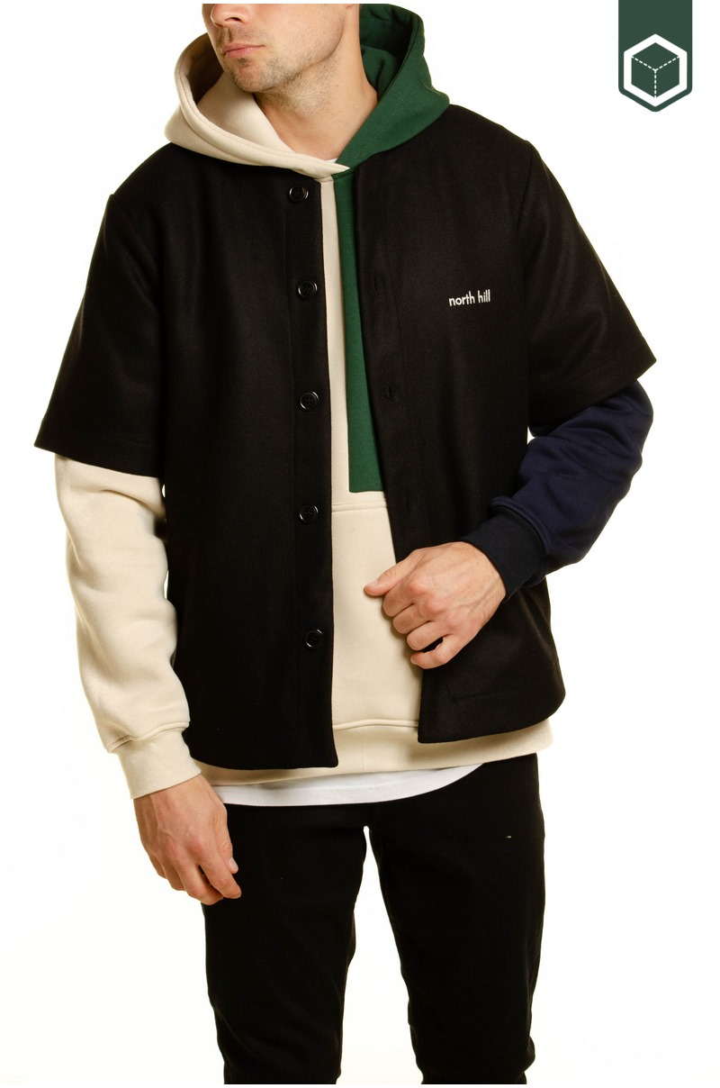 North Hill Baseball Jersey Wool