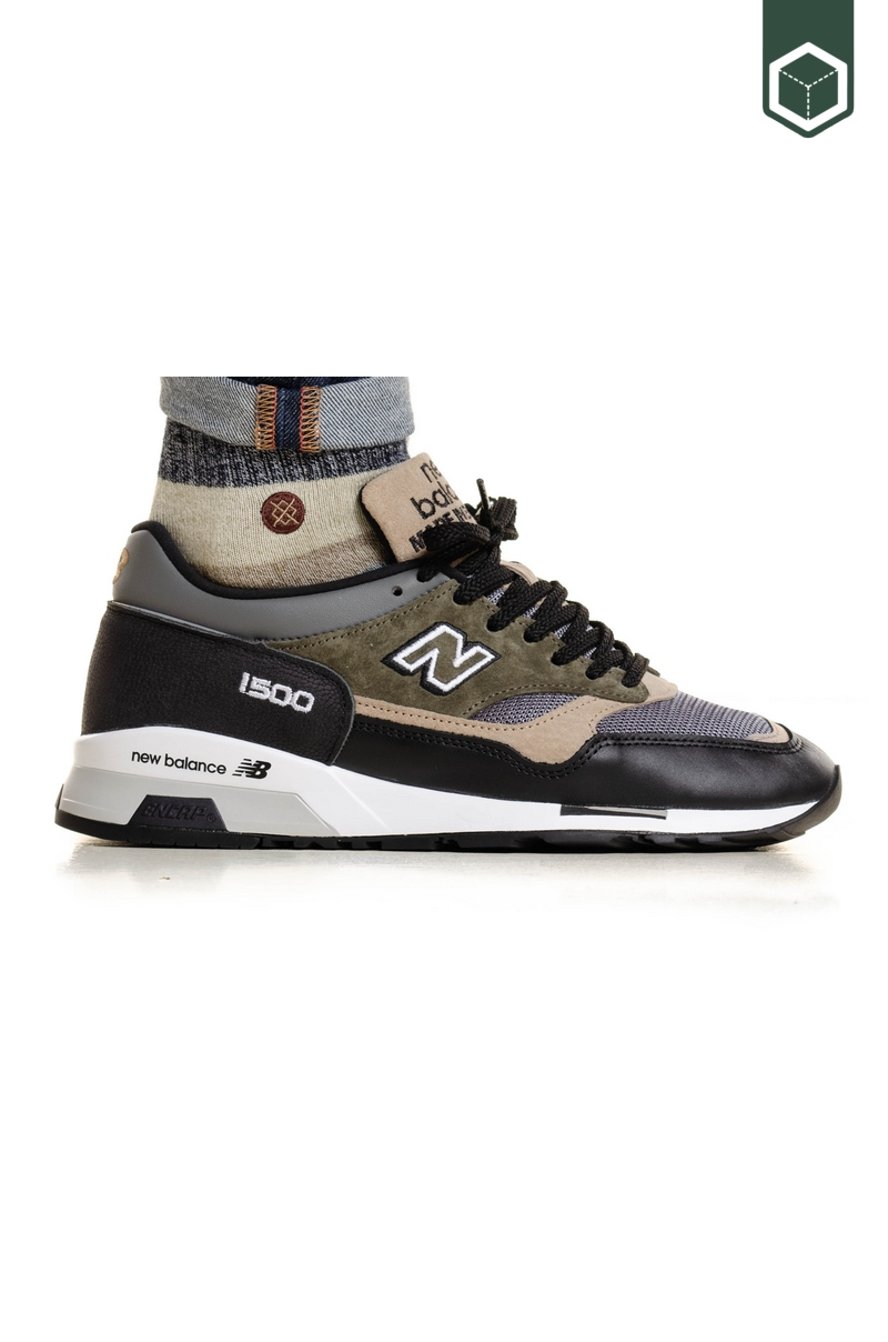 New Balance M1500FDS (Made in UK) Black/Grey