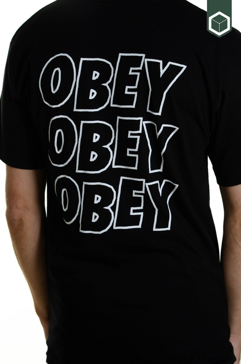 Obey Jumbled Eyes  Black