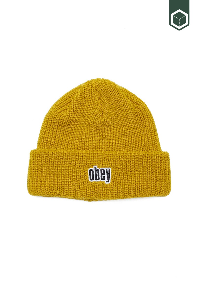 Obey Jungle Beanie Golden Palm