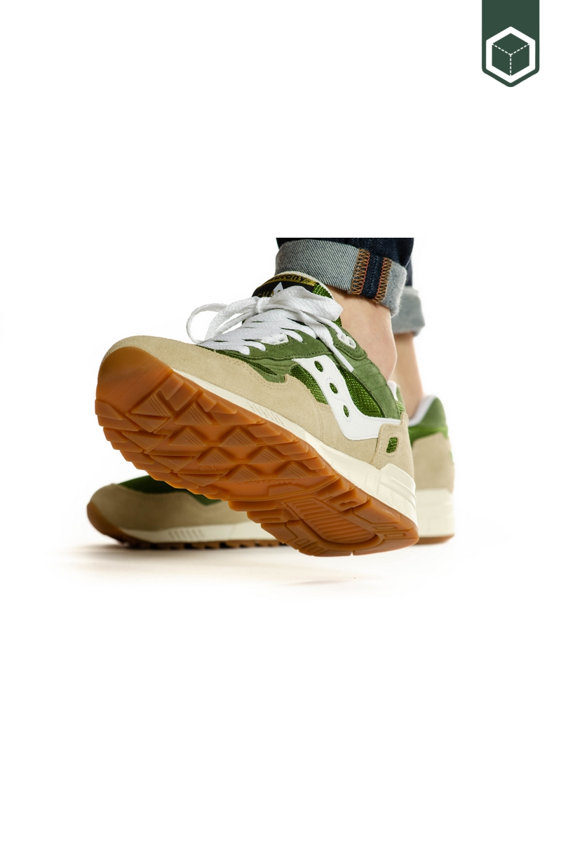 Saucony Shadow 5000  Green/Brown