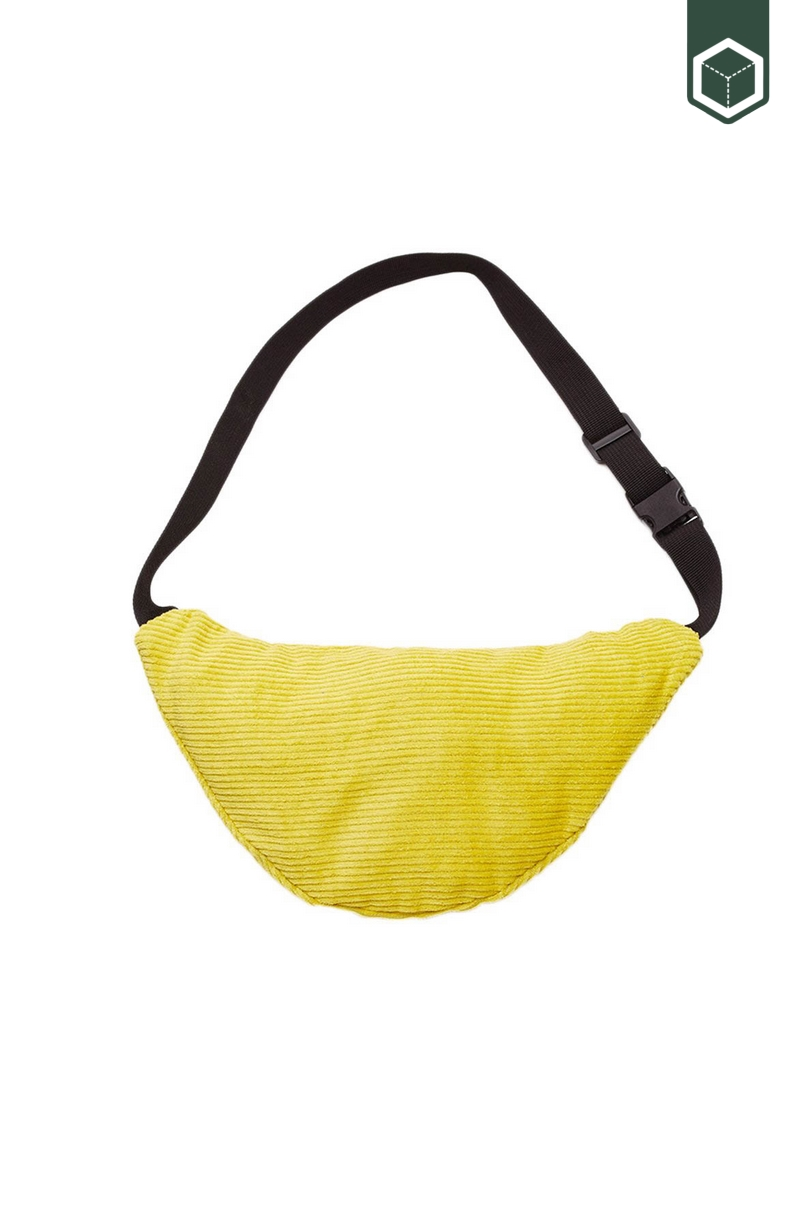 Obey Wasted Hip Bag Mellow Yellow