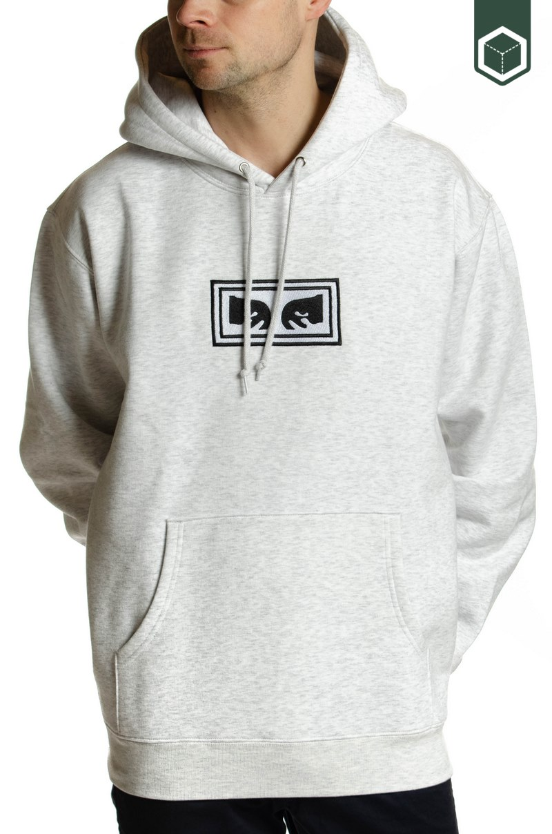 Obey Obey Eyes Hood Ash Grey
