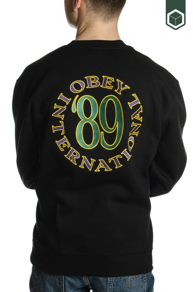 Obey Obey 89 INT Crew Black
