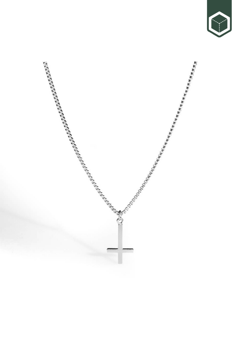 Northern Legacy Cross Pendant Silver