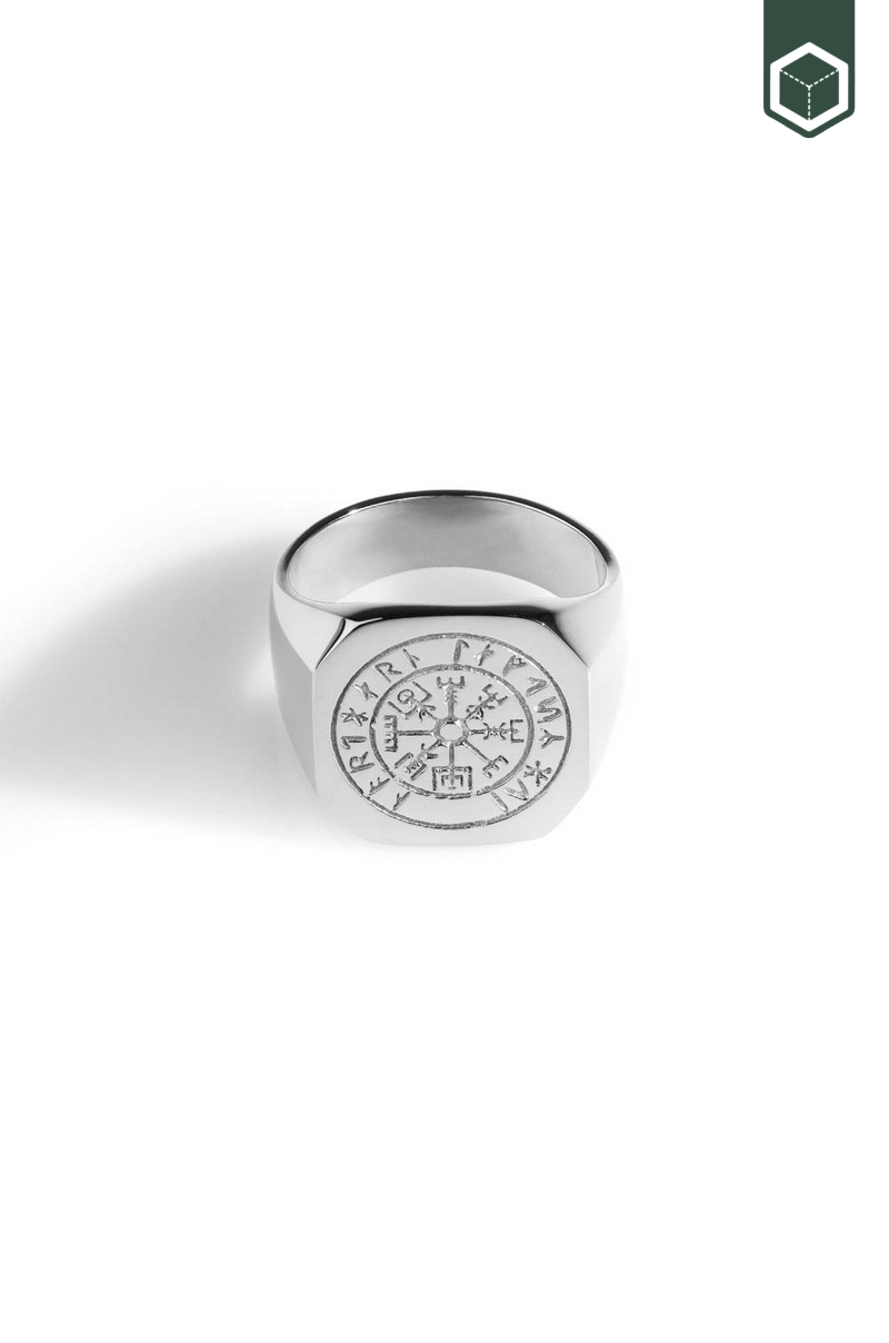 Northern Legacy Vegvisir Oversize Signature Silver