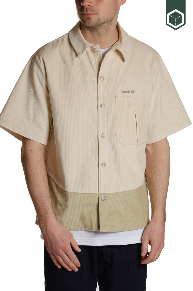 North Hill Short Sleeve Shirt Corduroy