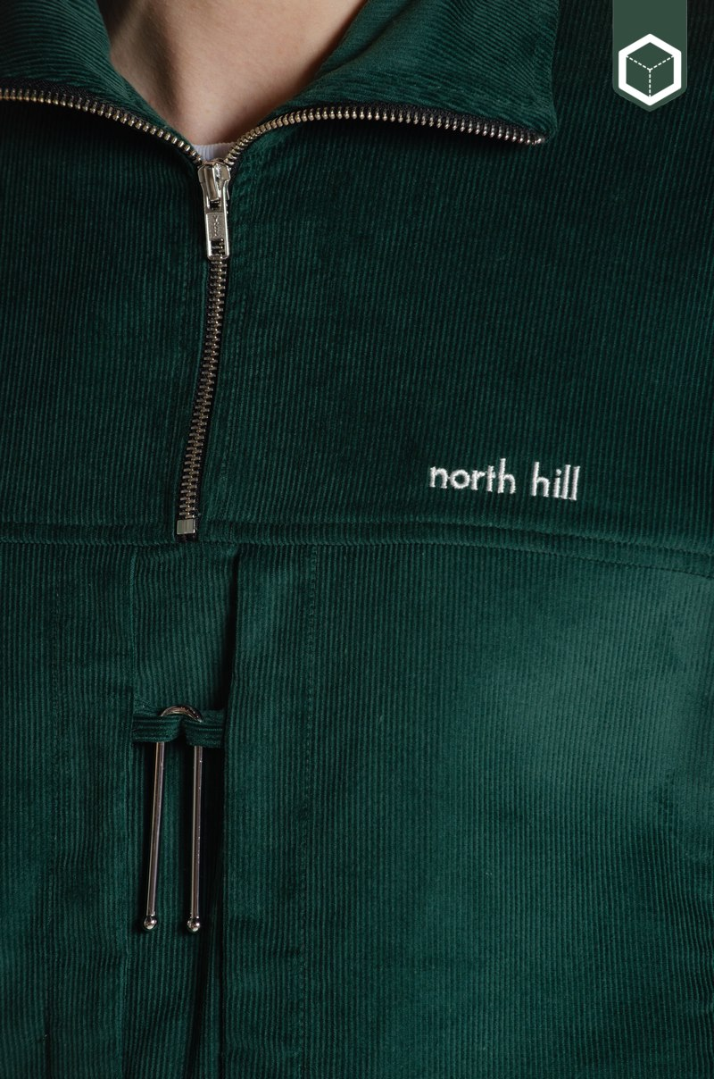 North Hill Vareuse Corduroy Green