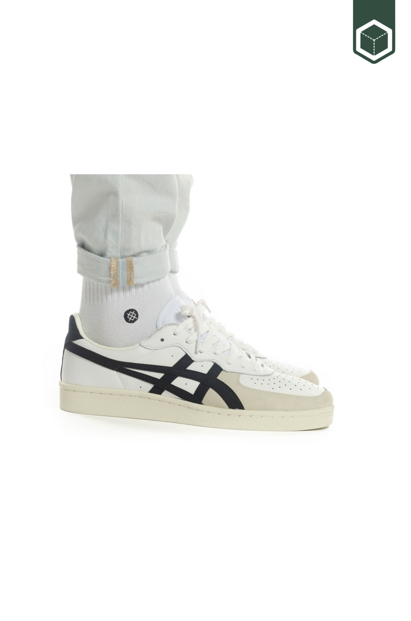 Asics GSM White/Black