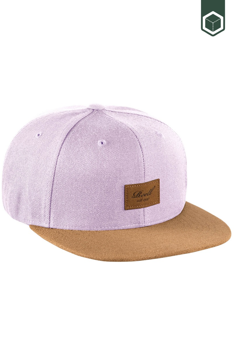 Reell Suede Cap Light Purple